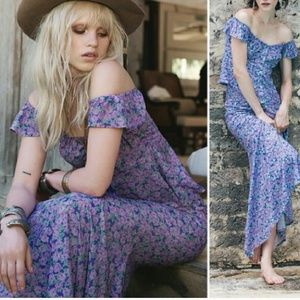 Spell and the Gypsy Wildflower Top Skirt Set NWT